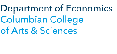 Department of Economics Columbian College of Arts & Sciences
