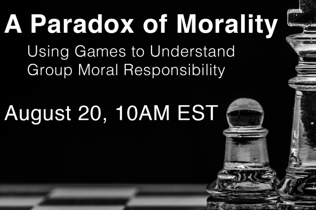 A Paradox of Morality: Using Games to Understand Group Moral Responsibility