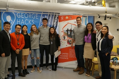 George Hacks wrapped up its first major event of the year, a two-week human trafficking hackathon in partnership with nonprofit